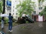 На Москву обрушился мощный ураган (29.05.2017)