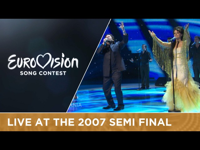 Aida Frederik Ndoci - Hear My Plea (Albania) Live 2007 Eurovision Song Contest