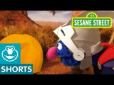 Sesame Street Super Grover Finds The Perfect Ball for a Cactus