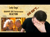Metallica &amp Lady Gaga LIVE 2017 GRAMMY Performance (Russian's REACTION)