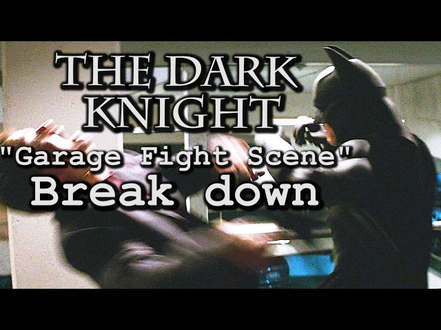 The Dark Knight Fight Scene | Keysi Fighting Method Breakdown