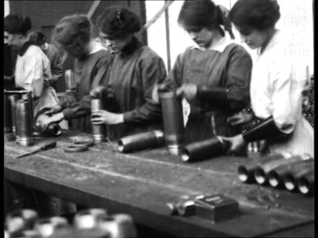 Women Munition Workers (1914-1918)