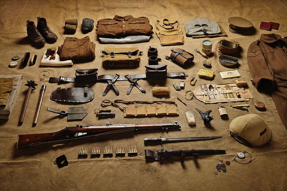 Экипировка британского солдата по состоянию на 1916г
