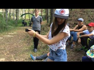 Тир в лагере Командор