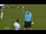Сент-Этьен - Манчестер Юнайтед. Красная карточка Байи