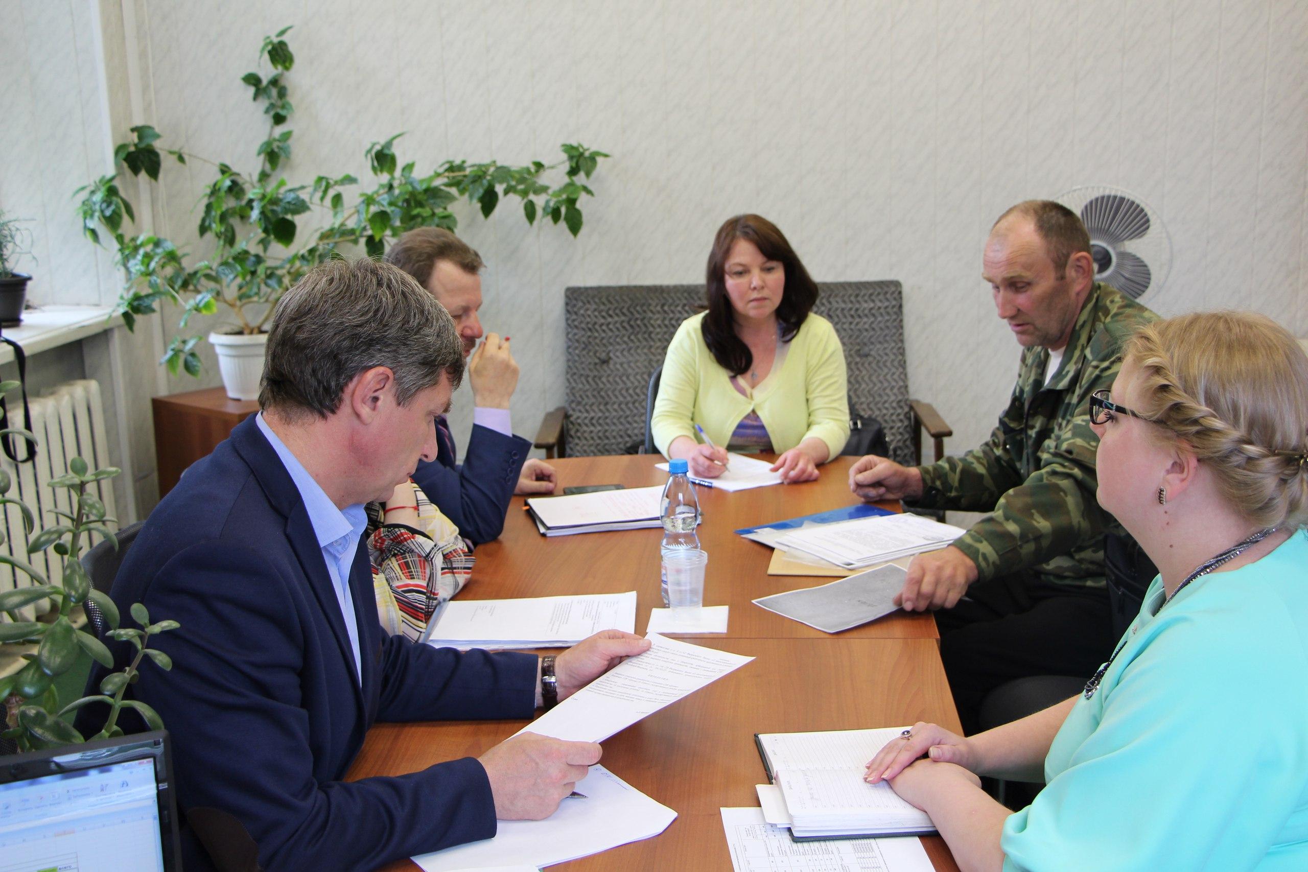 На Удоре в соответствии с рабочим планом находится заместитель министра имущественных и земельных отношений Республики Коми Андрей Майер