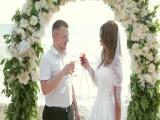 Владимир и Ксения - свадебная церемония на берегу моря