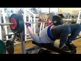 жим 150 кг на 3 повтора