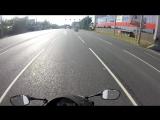 Безбашенная езда по городу на honda cbr 600 rr / Хонда сбр 600 рр