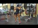 Женский бодибилдинг Спортивные фитнес модели мотивация для женщин к спорту