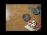 Чистка монет средством Silbo , и последний выезд на коп находки
