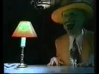 Заставка программы Видеоревю Игоря Жукова 90-х гг. совмещение телеведущего и фил