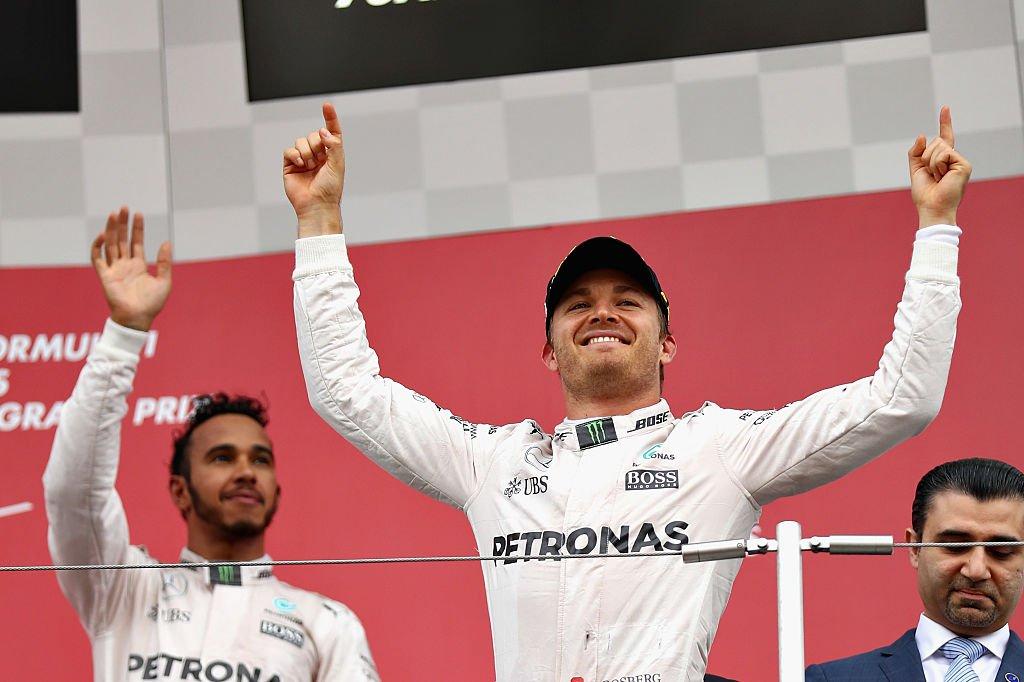 Германец Нико Росберг изкоманды Mercedes одержал победу Гран-при Японии