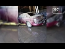 Пожар на автосервисе в Ростове-на-Дону