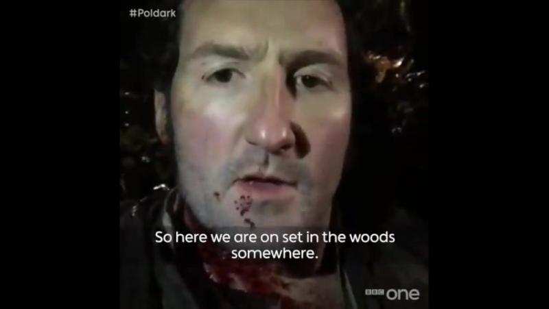 Poldark (сезон 3) – За кадром пятой серии с Джоном Холлинвортом