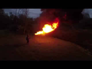 X15 Flamethrower 50ft Range by Throwflame.com