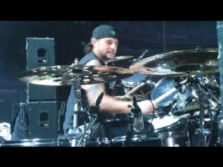 Dave Lombardo -- Postmortem_Hate Worldwide -- Big 4 Yankee Stadium_Drum Cam_