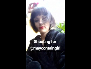 Shooting for MayContainGirl