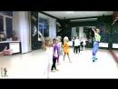 видео с урока эстрадного танца для детей 5-6 лет