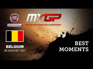 MXGP Best Moments - Fiat Professional MXGP of Belgium 2017 #motocross