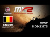 MX2 Best Moments - Fiat Professional MXGP of Belgium 2017 #motocross