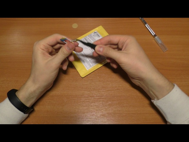 Антистатический пинцет VETUS ESD-15 за 0,9$ с AliExpress