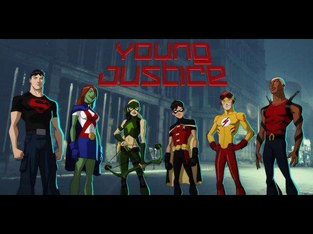Юная Лига Справедливости Обзор 1 сезон смотреть онлайн без регистрации