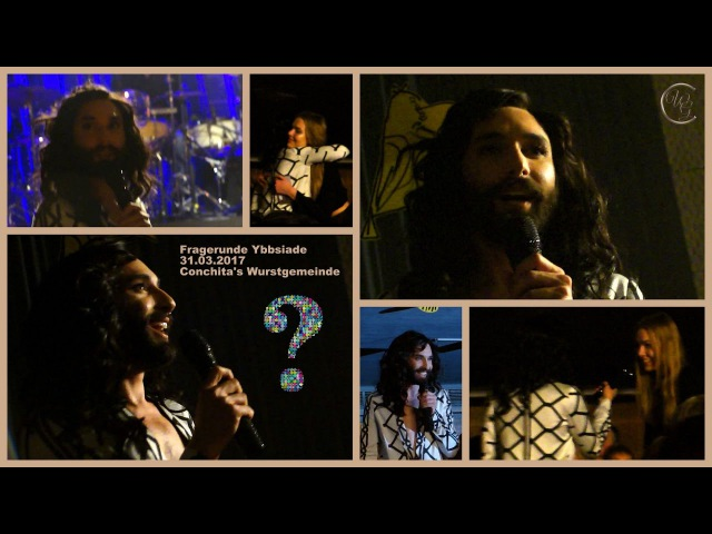 ConchitaAnswers - Conchita Wurst - Stadthalle Ybbs - 31.03.2017