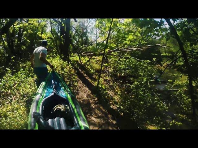 Спуск на байдарках по реке Свапа I Три дня; три дурака; три лодки I Часть 1