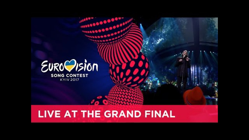 Salvador Sobral Amar Pelos Dois Portugal LIVE at the 2017 Eurovision Song Contest