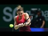 Simona Halep vs Heather Watson Highlights Fed Cup 2017