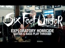 Six Feet Under Exploratory Homicide Jeff Hughell (Guitar and Bass Playthrough)