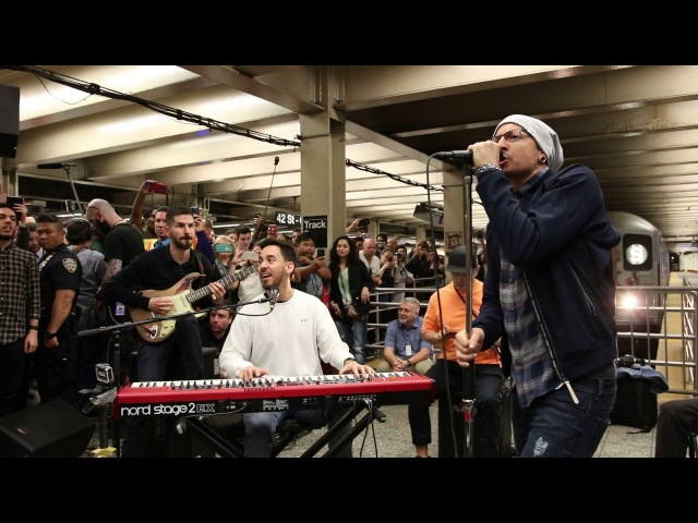 Linkin Park LIVE in Grand Central Station: What I've Done