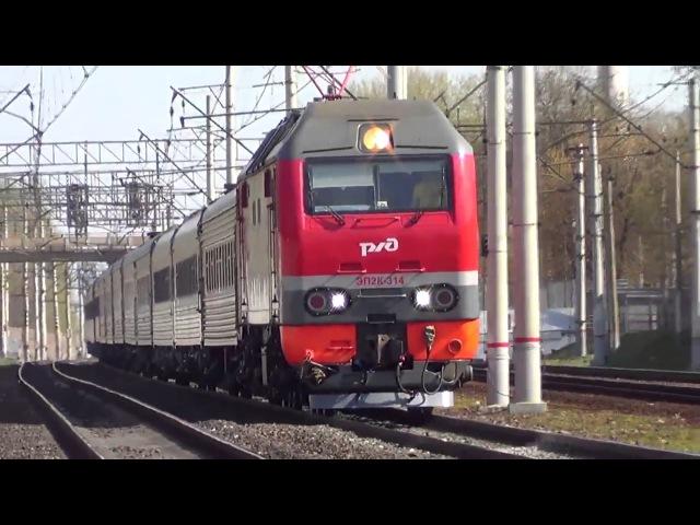 ЭП2К 314 с пассажирским поездом №119 Саранск - Москва