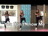 You Don't Know Me - Jax Jones - Watch on computer - HipNThigh Fitness Choreo Dance