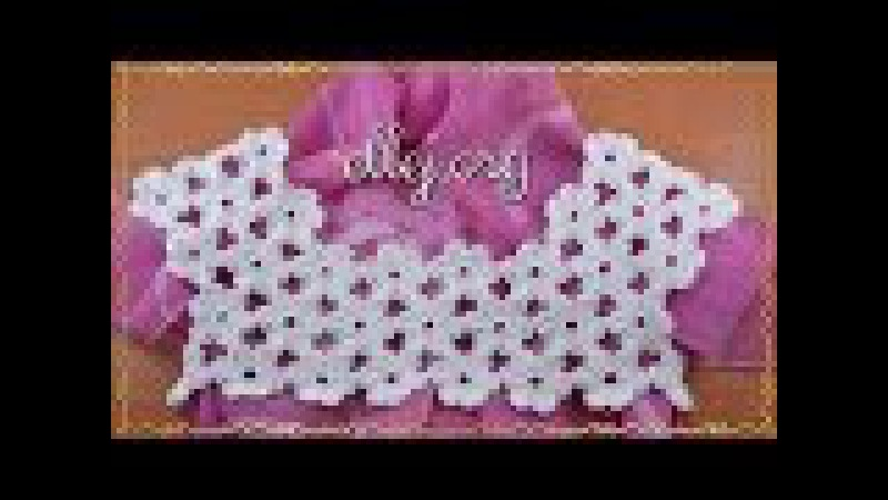 Видео урок Цветочная кокетка крючком Безотрывное вязание. Мастер-класс. Схема в » Freewka.com - Смотреть онлайн в хорощем качестве