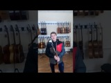 Видео отзыв от нашего почётного покупателя для Салона Гитар и комплектующих Maestro