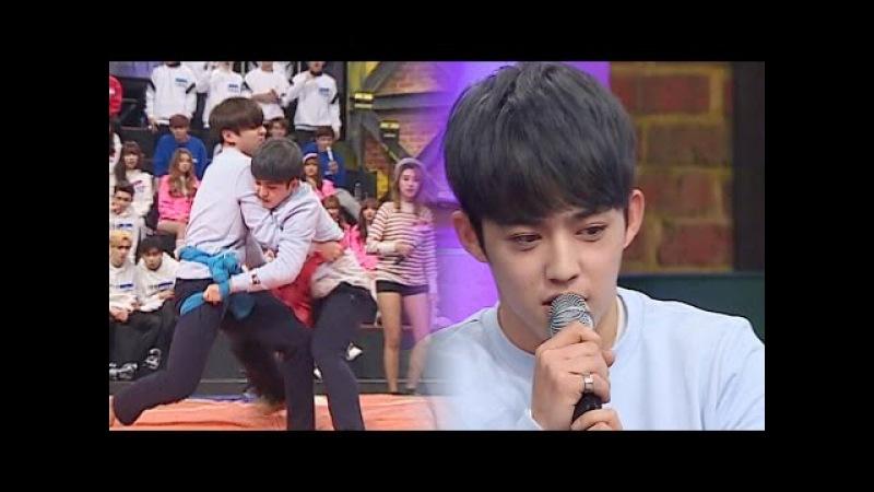 '세븐틴' 에스쿱스 '방탄 소년단' 정국 꺾고 남자부 씨름 우승! @사장님이 보고5