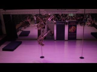 Едемская Дарья и Дементьева Анна - Catwalk Dance Fest VIIl [pole dance, aerial] 16.04.17.