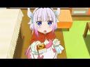 Дракон горничная Кобаяши Katchi 「ANI」 · coub коуб