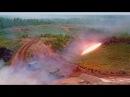 Один залп ТОС-1А «Солнцепек» выжигает площадь, равную восьми футбольным полям