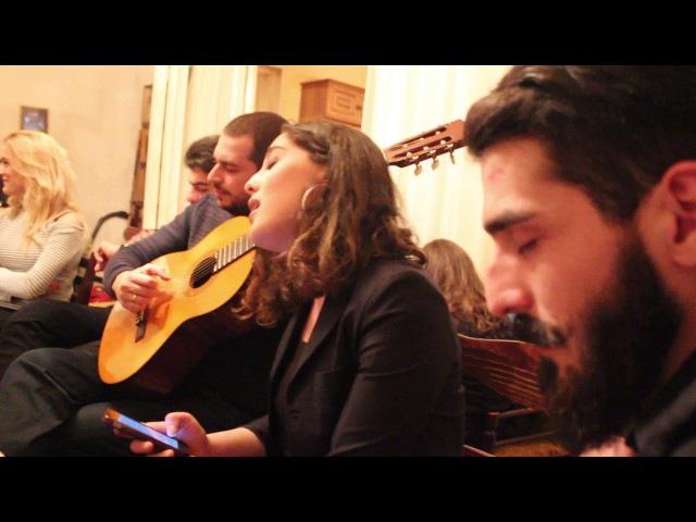 იღვიძებს ჩემი თბილისი / Igvidzebs chemi Tbilisi / simgera Tbilisze - Salome Tetiashvili