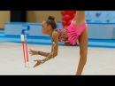 Художественная гимнастика Анастасия Шибаева Булавы