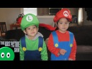 How to Go Trick or Treating - Halloween with Super Mario Bros - The Kids' Picture Show