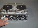 Nagra III 8607 analog tape recorder demonstration