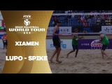 Amazing spike from Lupo - Xiamen Open
