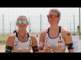 FIVB World Tour - Switzerland's Nicole Eiholzer/Dunja Gerson reveal their sports heroes