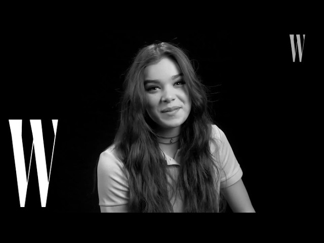 Hailee Steinfeld's First Kiss Was On Screen: Yeah, I Was Nervous! | W Magazine