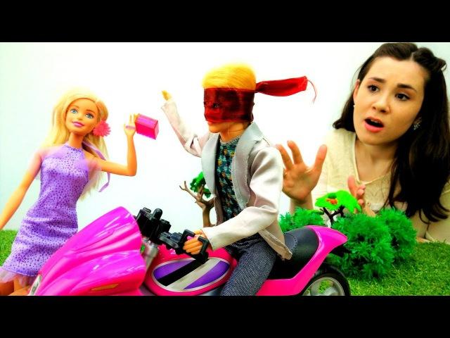 Барби и Кен: кто украл сумочку Барби? Грабитель в маске. Игры Барби для девочке