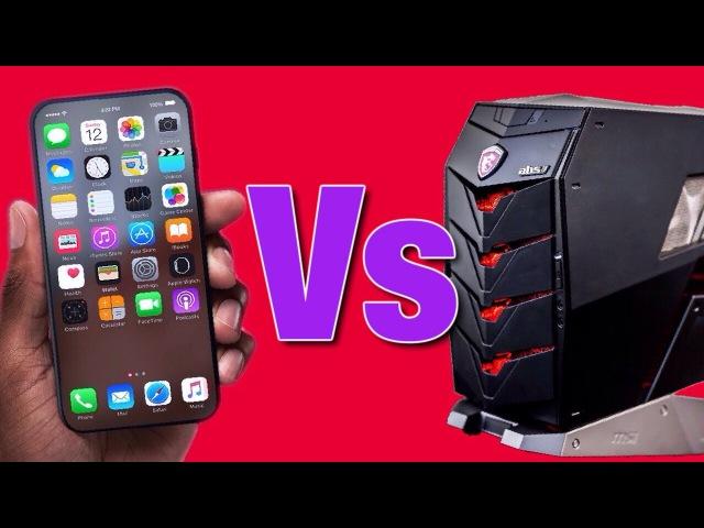 IPhone 8 Vs ИГРОВОЙ ПК / Ради чего стоит продать почку?